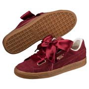 Ghete Puma Basket Heart Corduroy Wn's