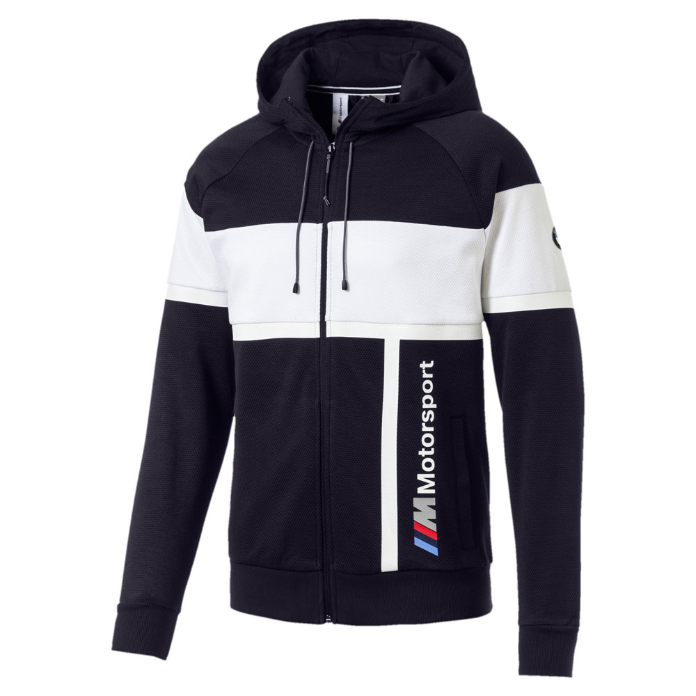 Scurta Puma BMW MMS Hooded Sweat Jacket