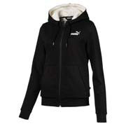 Scurta Puma ESS+ Sherpa Hooded Jacket